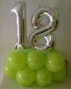 balloon per 18 anni