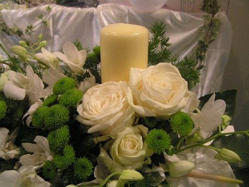 centrotavola per matrimoni - particolare