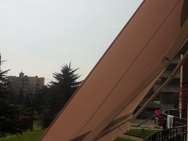 vista laterale di una veneziana
