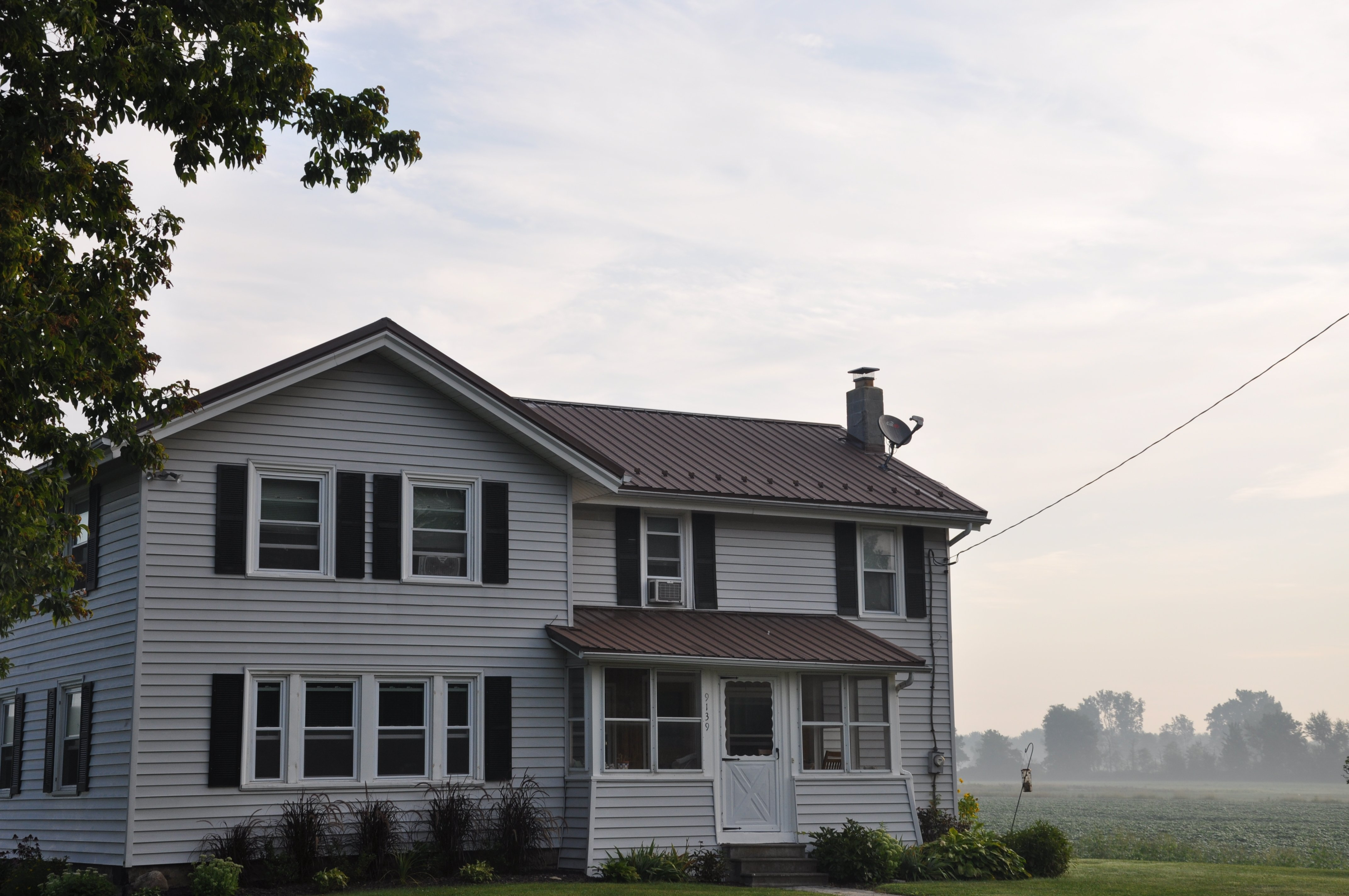 Roofing Service on Home in Lockport NY