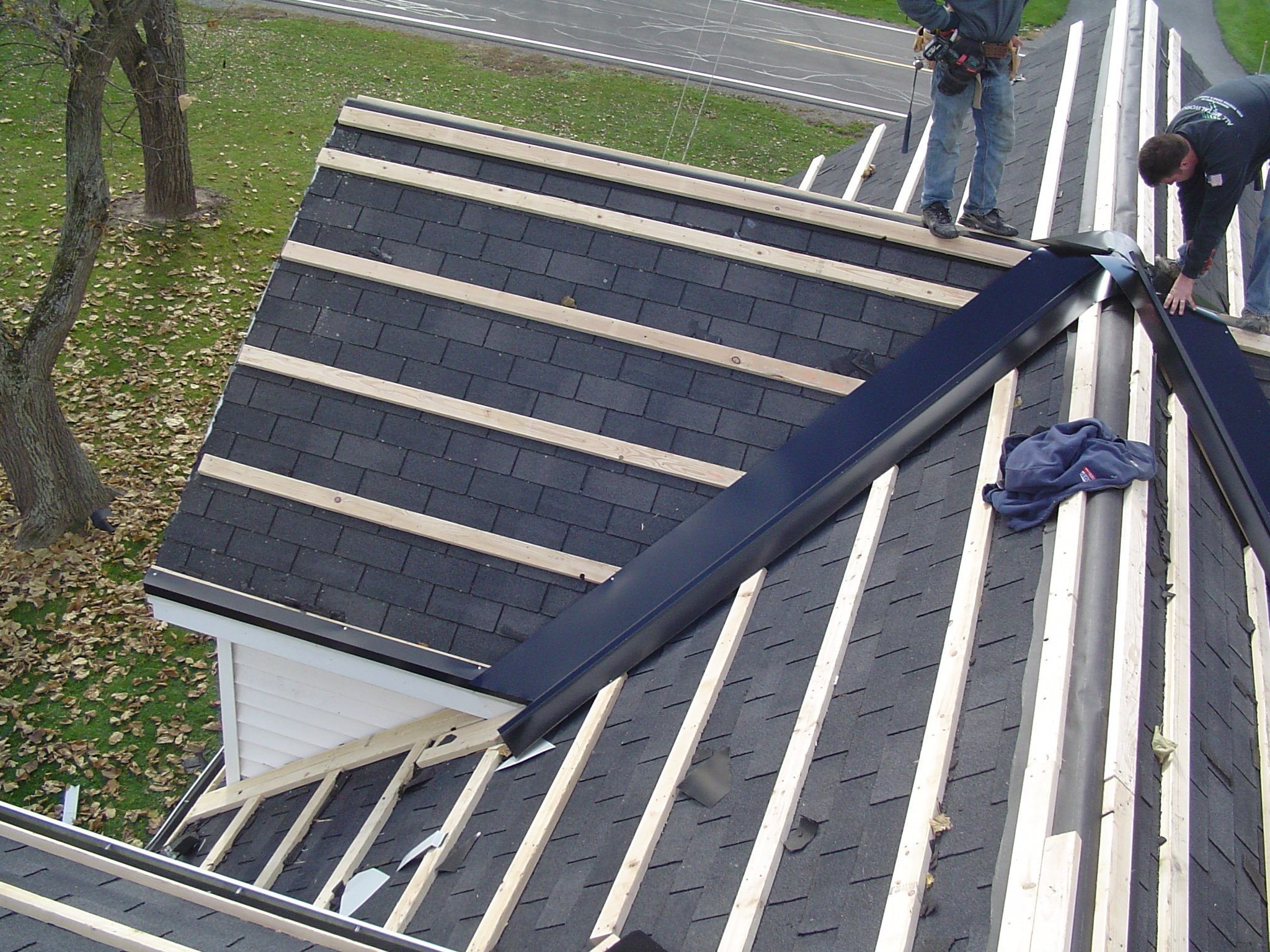 Roofing Work on Niagara Falls NY Home