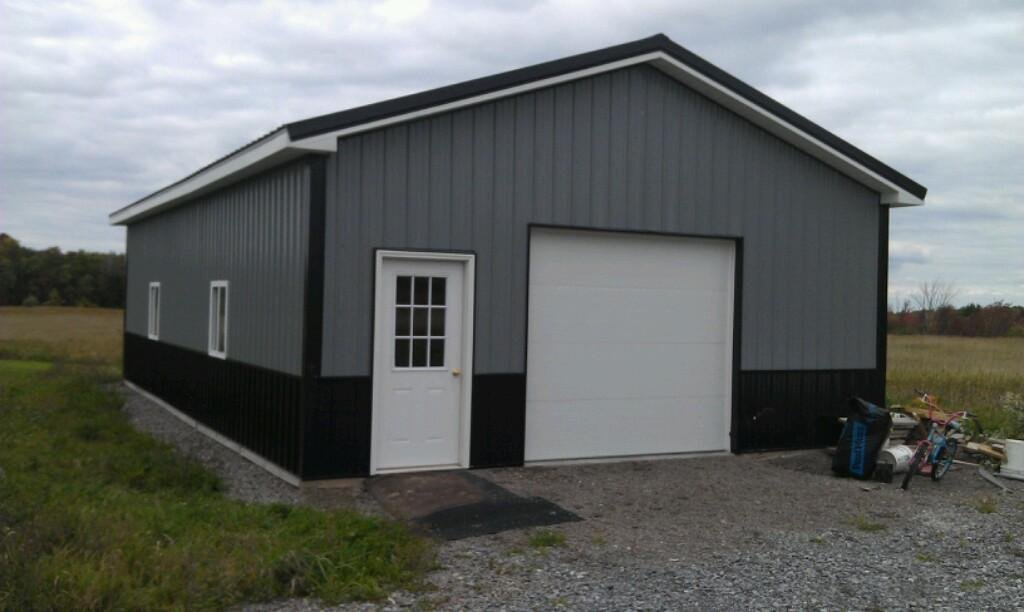 84 gray pole barn our construction services include for 30x30 pole building