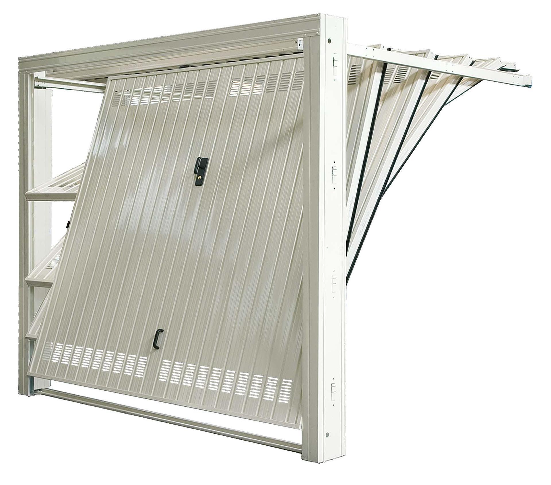 Porte basculanti su misura piancogno bs sandrini serrande for Porta basculante per cani grandi con microchip