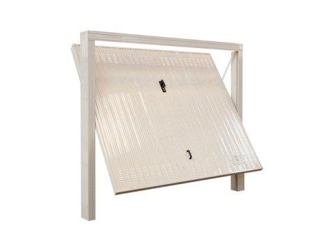 Porta basculante in acciaio zincato