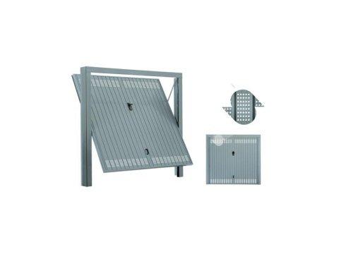 Porta basculante con fori circolari e accessori