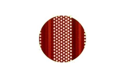 Fori circolari rosso