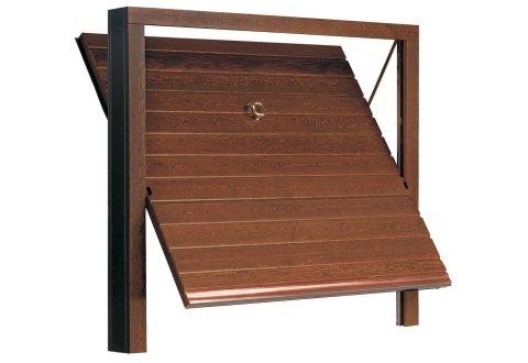 Porta basculante in legno - Modello Orizzont Isa