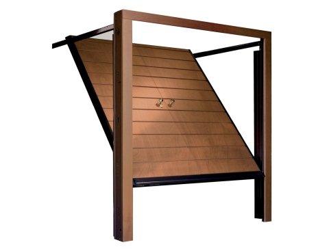 Porta basculante in legno - Modello Filo