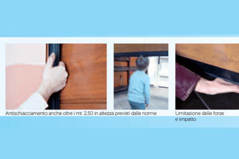 Porte sezionali pre-assemblata-progettazioni
