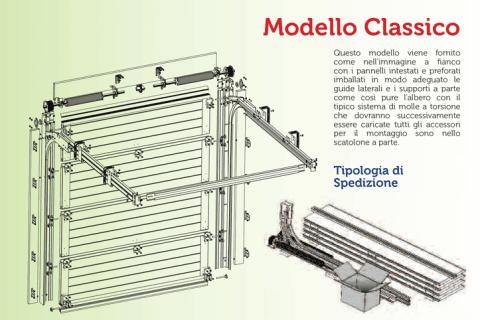 modello classico-disegno