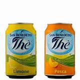 lattine di the