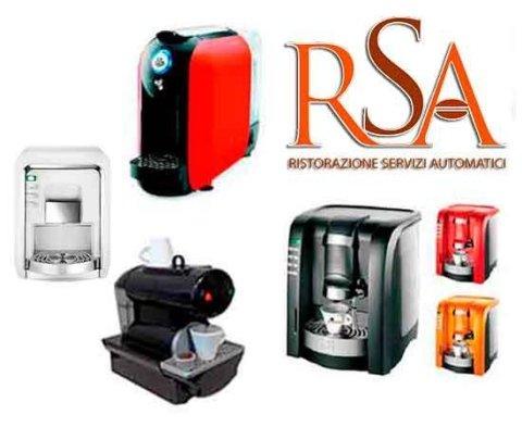 Macchinette caffe casa e ufficio RSA Distributori