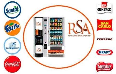 RAS distributori automatici bevande e snack