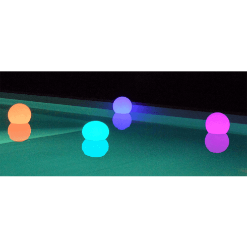 Luci galleggianti colorate per piscina