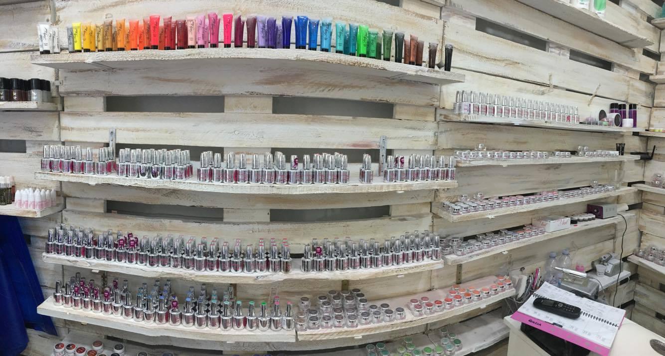 colorazioni professionali per apllicazione su unghie