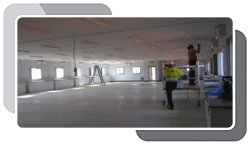 Installation of Interiors