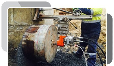 Our inverted concrete core drilling in Perth