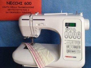 Macchina per cucire Necchi 600