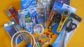 forbici, accessori per cucire,