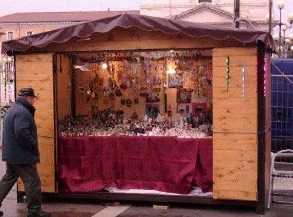 casette di legno per mercatino