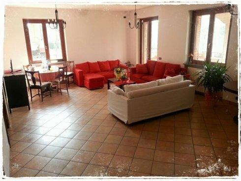 il salone di Villa Kalispera