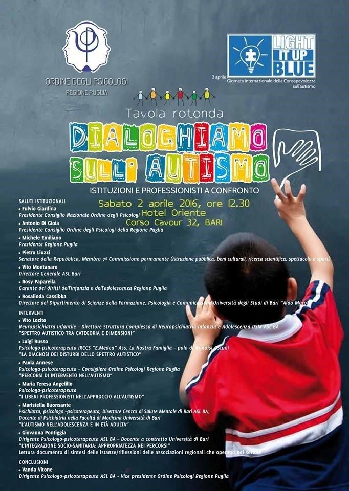 giornata internazionale dell'autismo