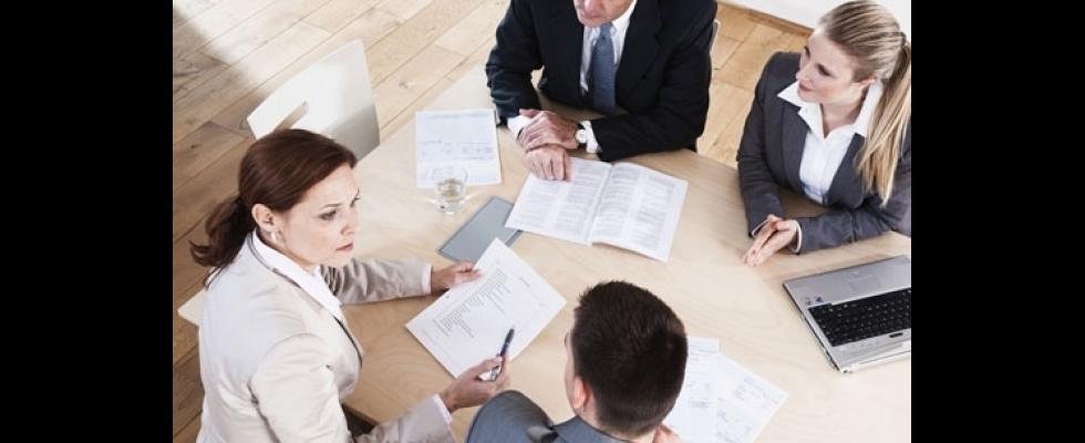 Consulenti fiscali in riunione