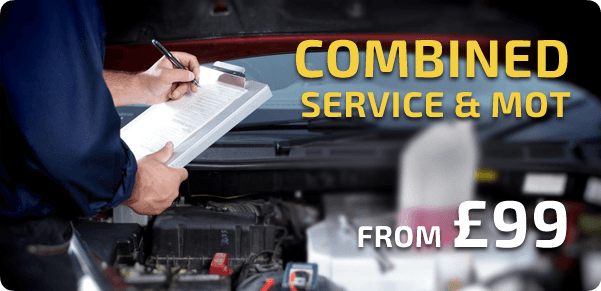 Combined service & MOT