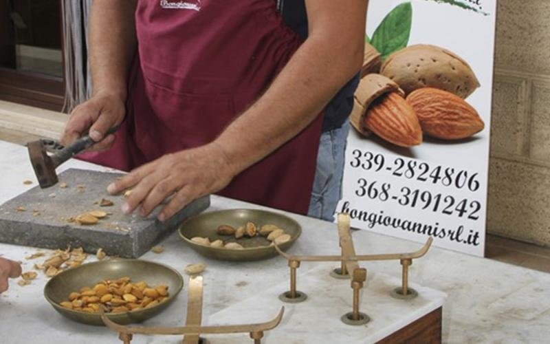 Sale and delivery of almonds