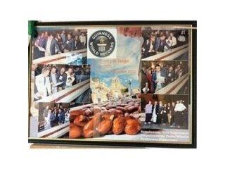创吉尼斯世界纪录的奶油杏仁糖