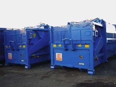 container raccolta imballaggi