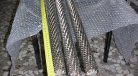 resistenze lineari alettate in acciaio applicazione riscaldamento aria spinta