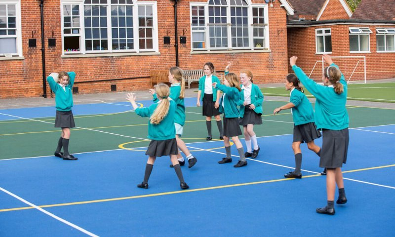 MUGA design & installation at Godalming School in Surrey | Playcubed Playgrounds