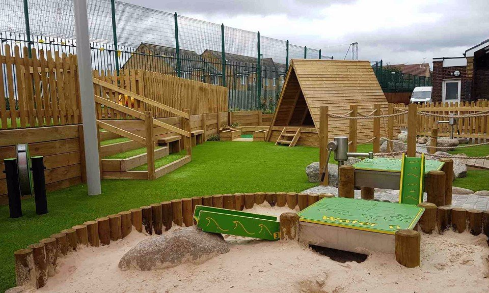 School Playground Design and install | London & South East