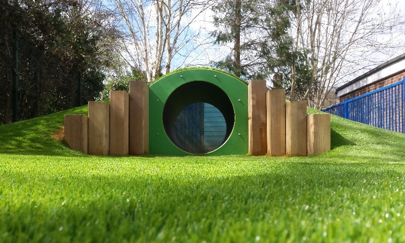 School playground design and install for Mardon Lodge Primary School in Surrey - Playcubed