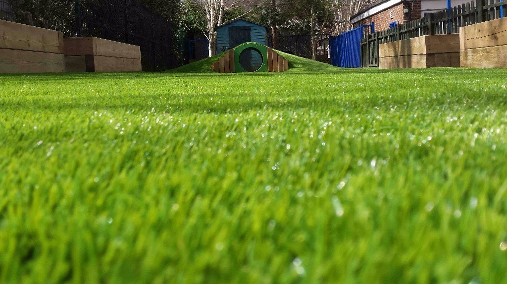Artificial Grass - The Perfect Playground Surface for Today's Busy Schools - School Playground Design and Installation