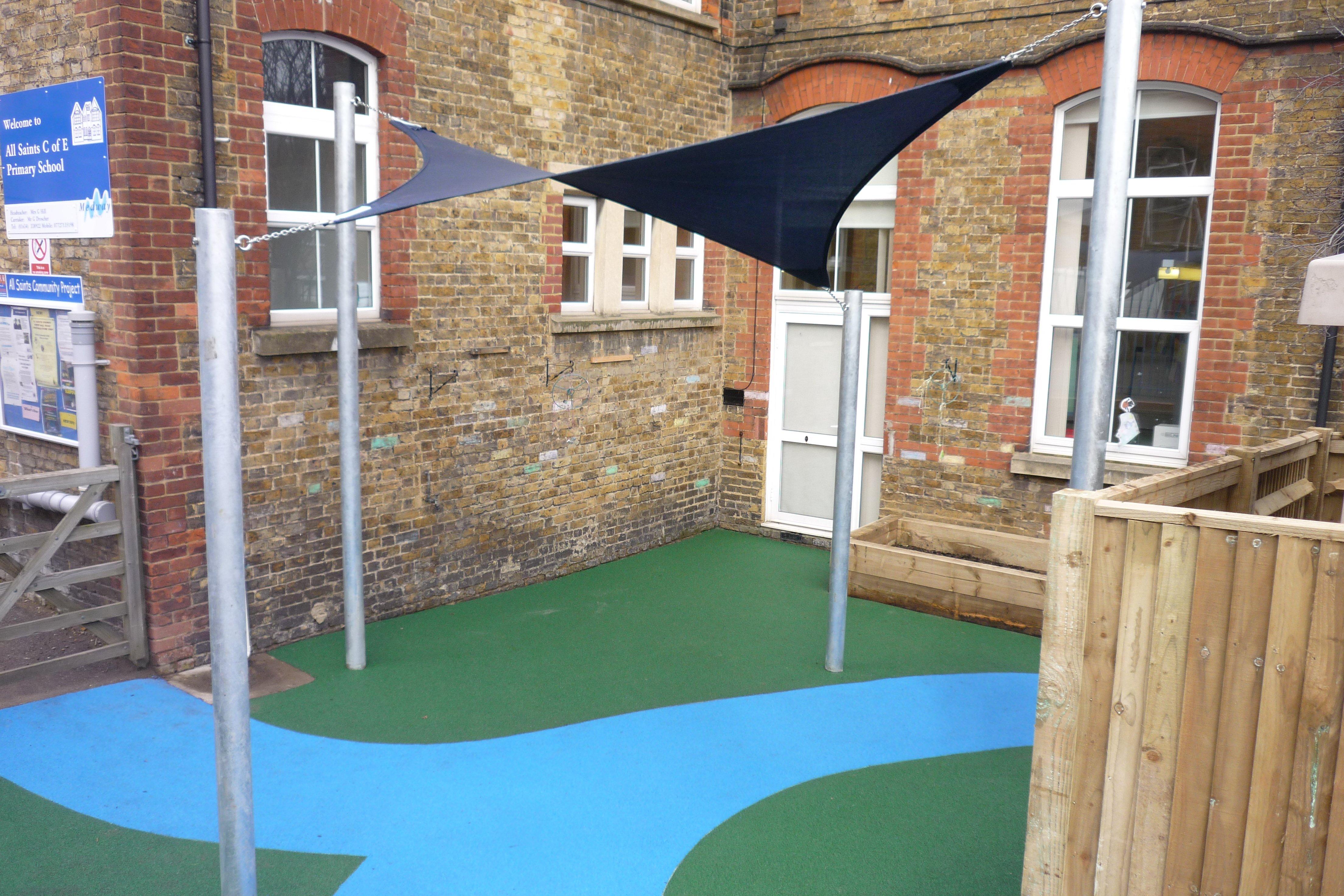 Shade Sails, Shelter, Playground