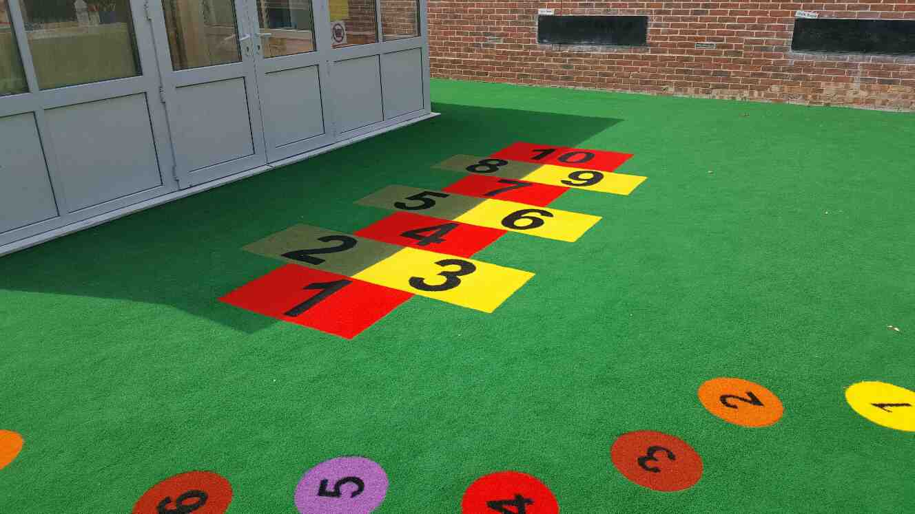 Play and Mathematics - School Playground Design and Installation by Playcubed