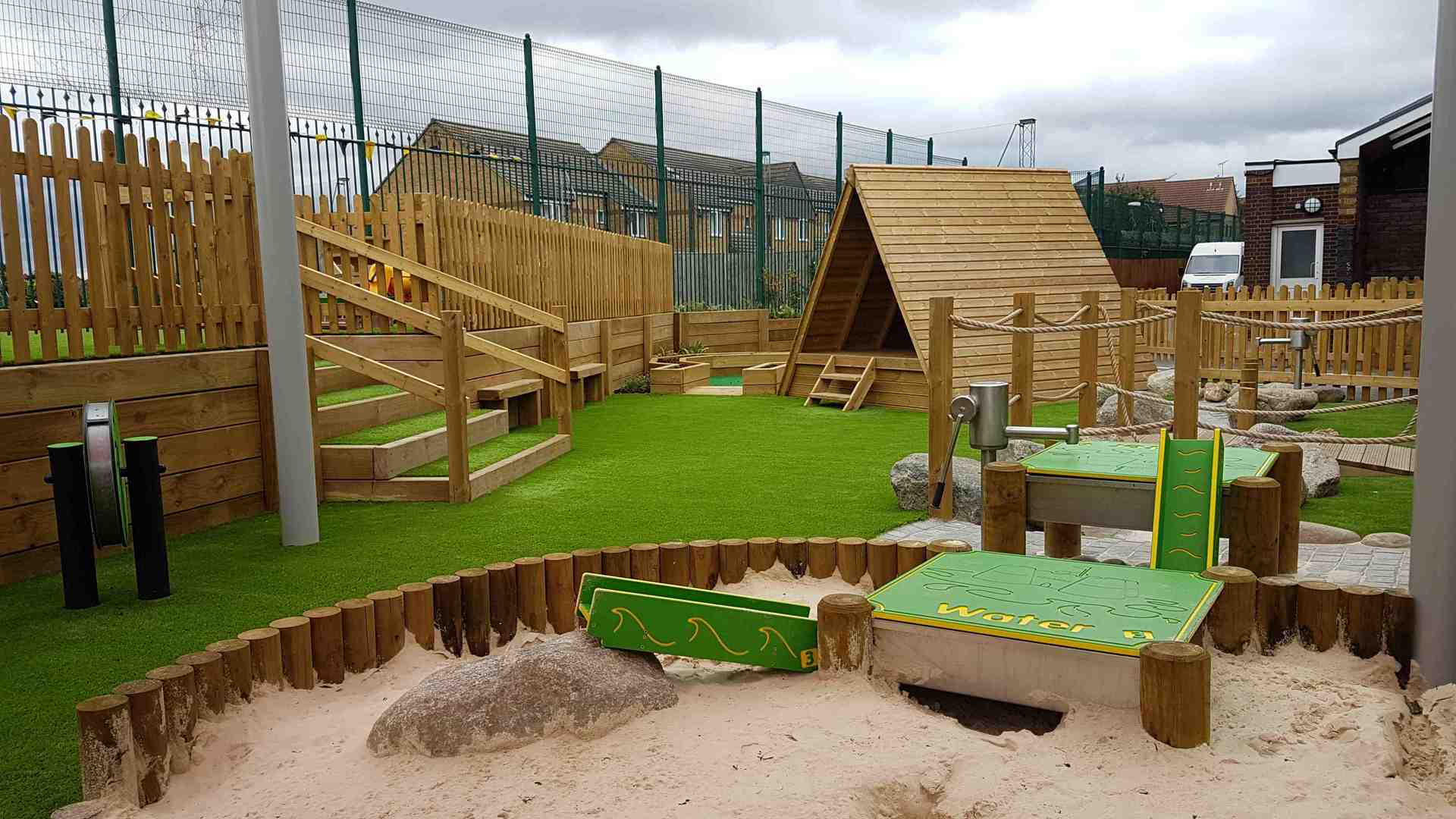 School Playground Installation | School Play Areas | Design & Install | London & South East