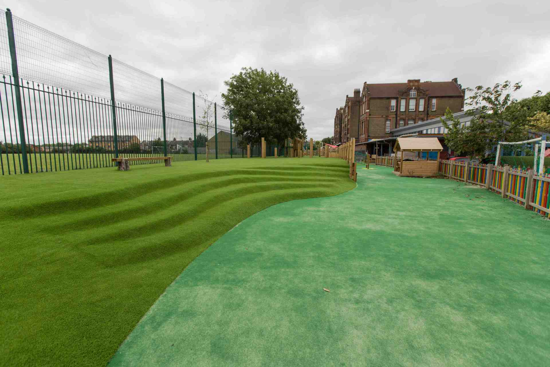 School Playground Installers In London and South East