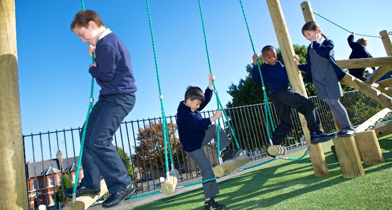 How Far is Too Far? - School Playground Design and Installation