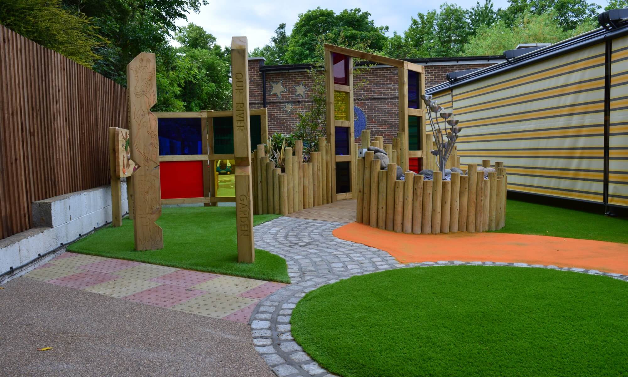 School Playground design & installation at Bedelsford School in Kingston, London | Playcubed Playgrounds