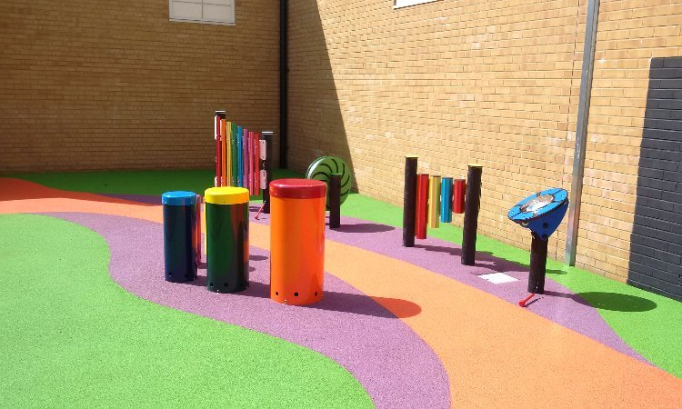 SEND Playground installation in Kent by Playcubed