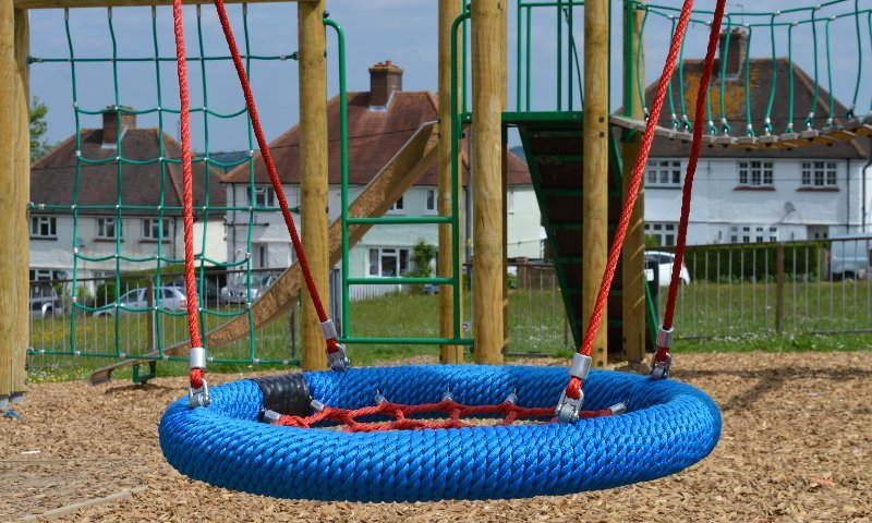 Playground design & installation at Saxon Place Park in Dartford, Kent | Playcubed Playgrounds