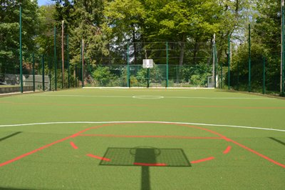 MUGA and ballcourt