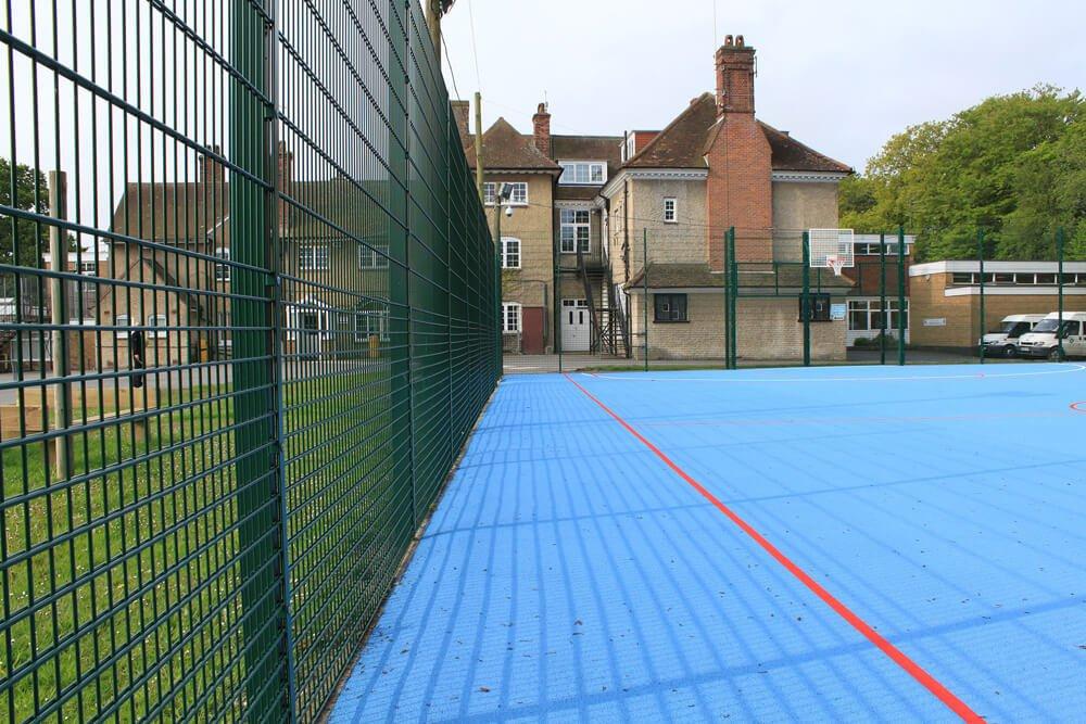 MUGA and ballcourts