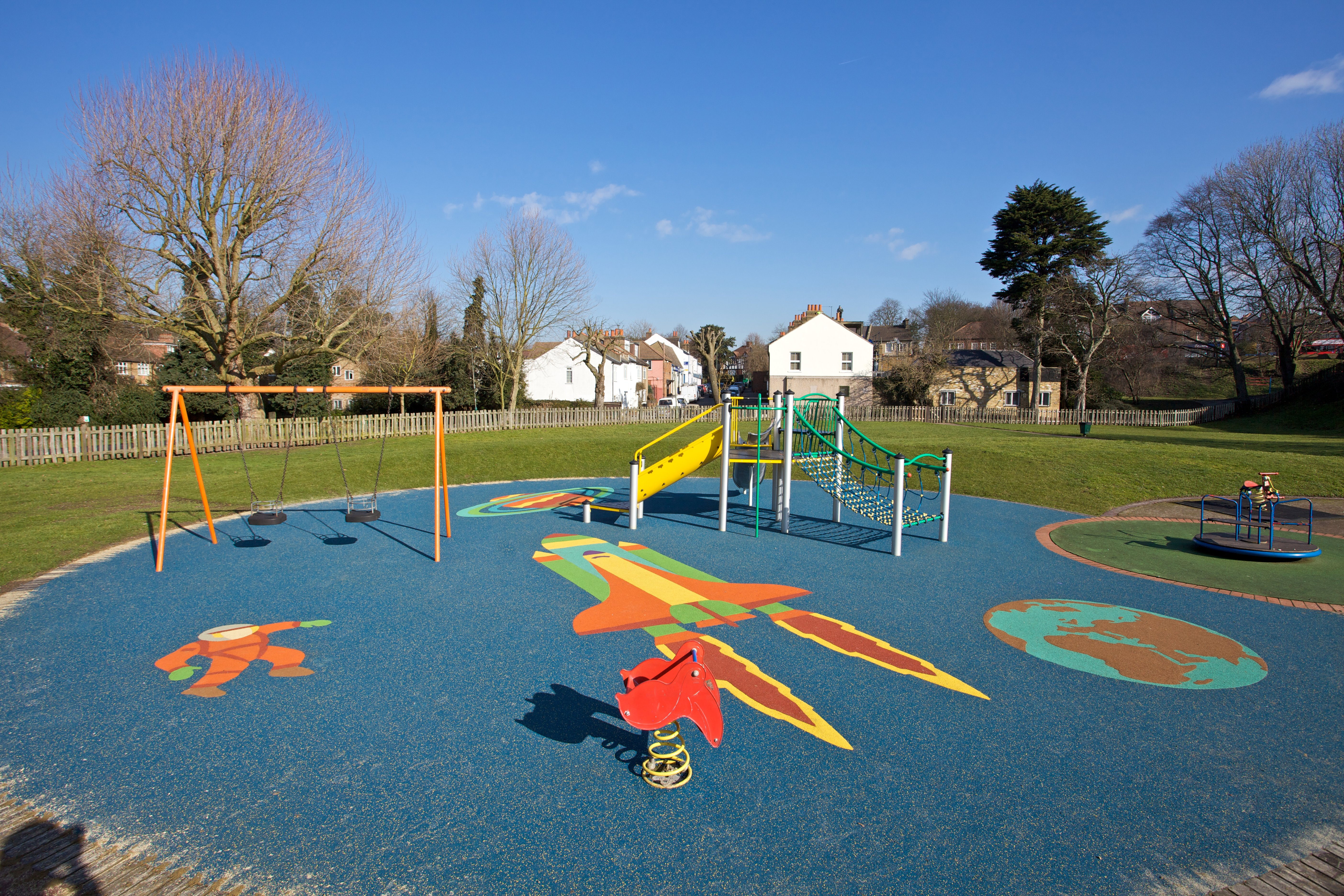 Theme Play, Safety Surface, Wetpour, Playground