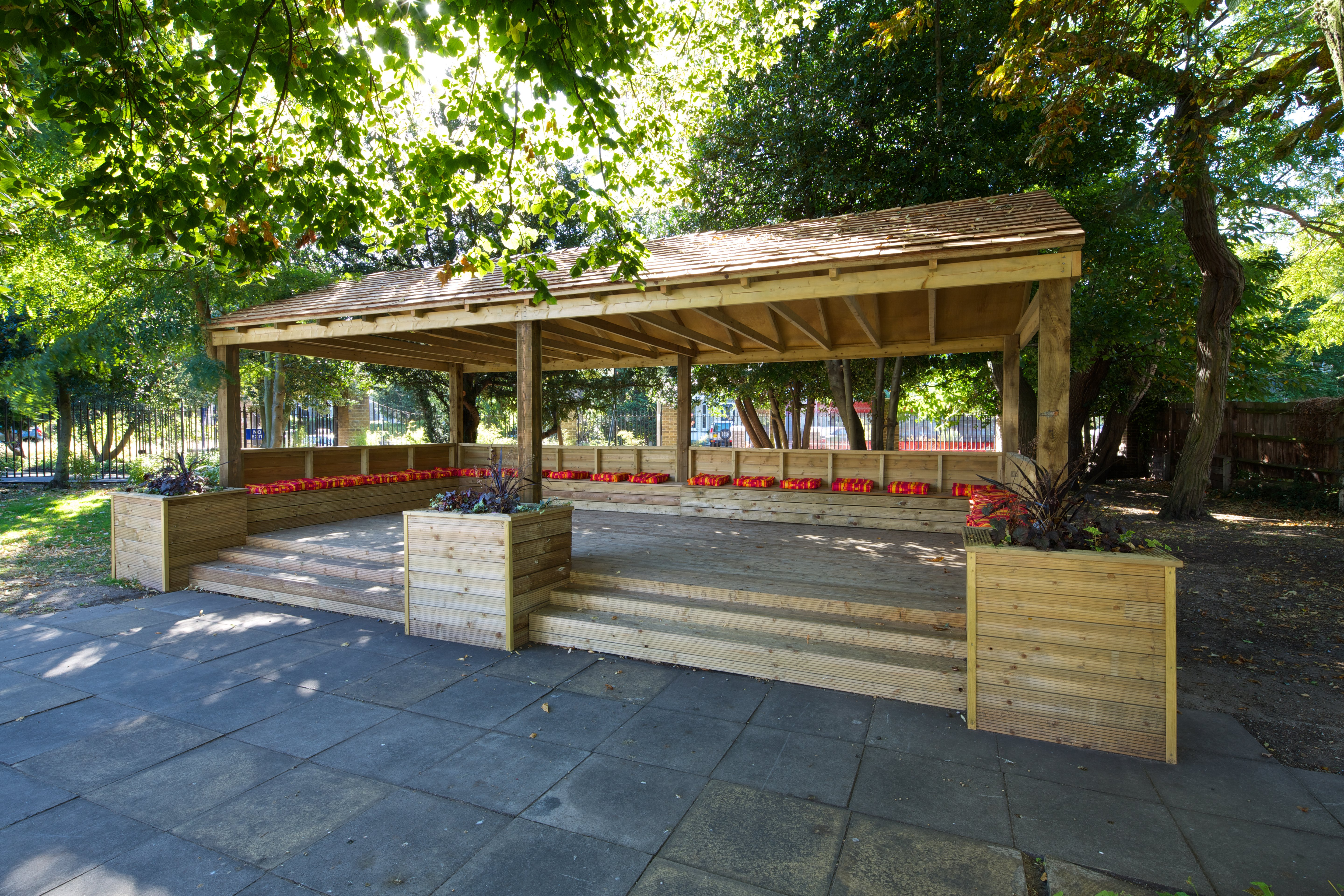 Outdoor Classroom, Shelter, Playground