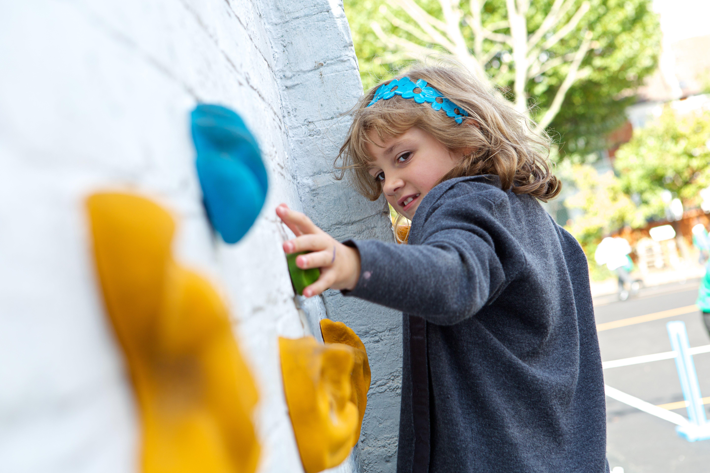 Climbing Walls, Playground