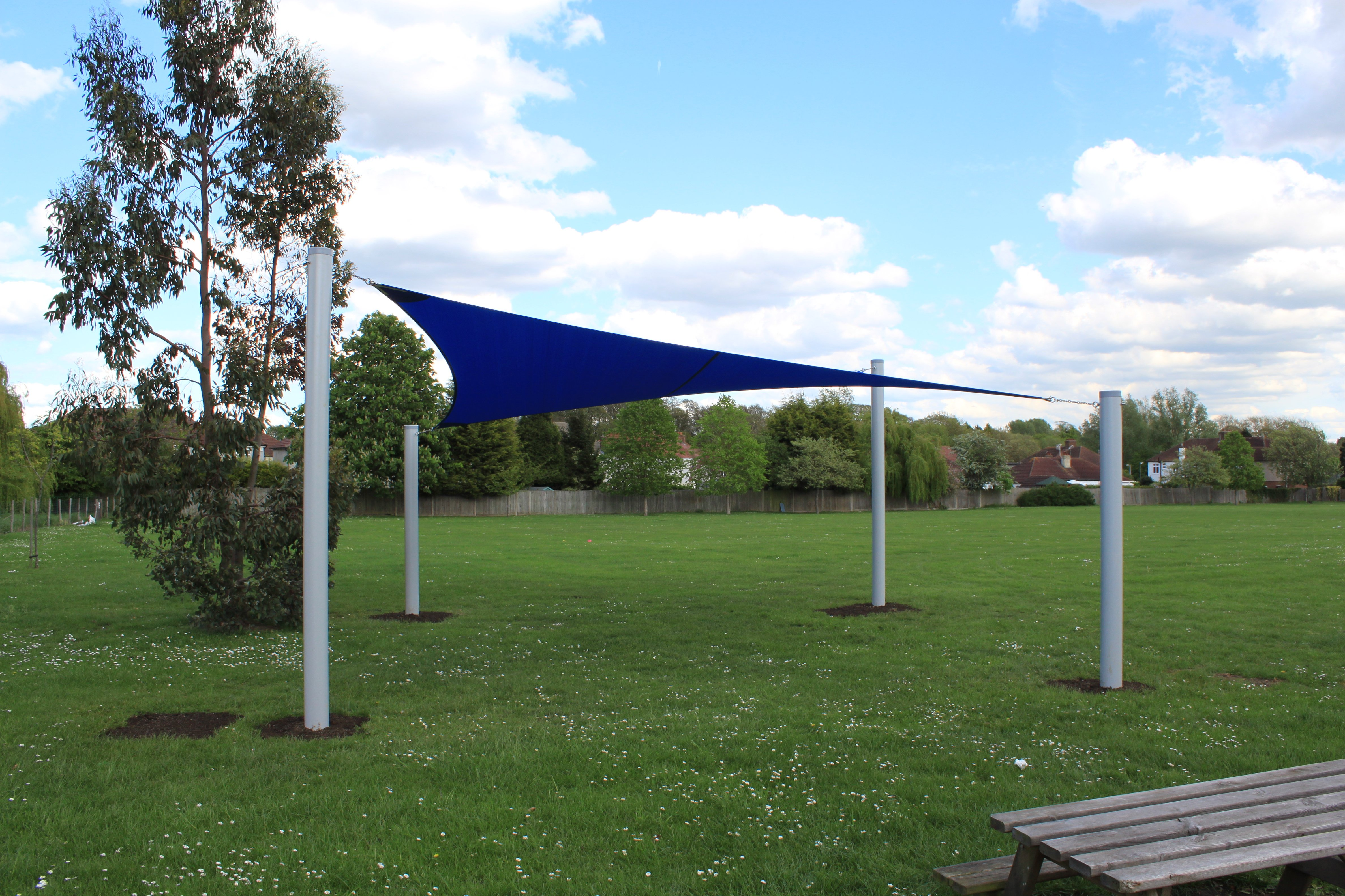 Shade Sail, Shelter, Playground